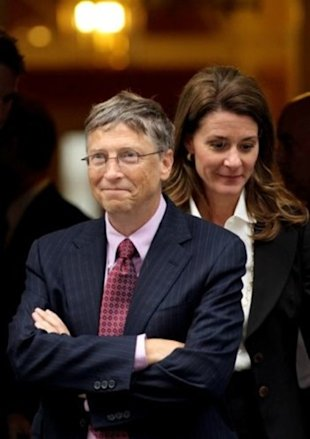 Bill and Melinda Gates; photo credit: Getty Images