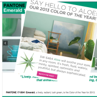 Spring 2013 Marketing Trend Report image green trends ex