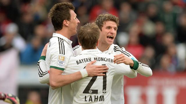 Bundesliga - Derby win sees Bayern make it 45 unbeaten