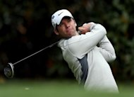 England's Paul Casey during the 2012 Masters Tournament at Augusta National Golf Club in Augusta, Georgia, in April. Chinese 14-year-old Andy Zhang is poised to become the youngest golfer to play the US Open since World War II after the withdrawals of Casey and Brandt Snedeker on Monday