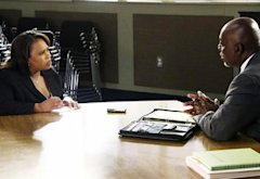 Chandra Wilson. Thom Barry | Photo Credits: Richard Cartwright/ABC