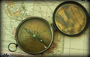 The Complete Expert Interview Guide To Better Content Marketing image map and compass
