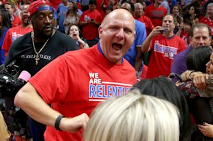 Steve Ballmer is reportedly fired up about making his own streaming service. (Stephen Dunn/Getty)