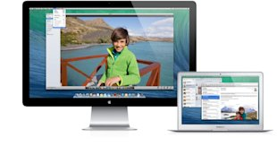 Why OS X Mavericks and the New MacBook Air Will Rock Your Mac World image multiple displays menus 685x361