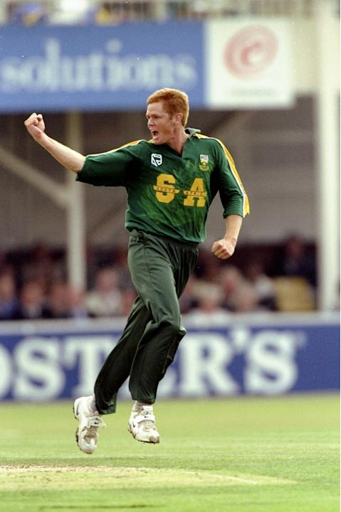 Shaun Pollock of South Africa