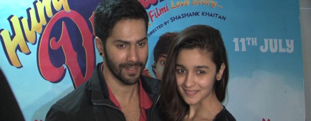 Varun Dhawan And Alia Bhatt Visit Multiplex | Watch the video ...