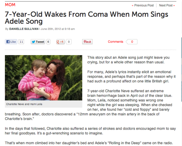 The Power of Adele (and Mom!)