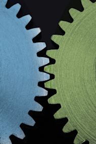Five Ways CRM + Marketing Automation = Sales image GEARS in Act On color