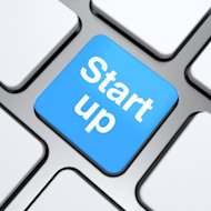 How To Get Hired At A Startup image start up text on a button