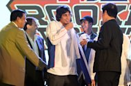 Alex Mallari was a surpise third pick. (PBA Images)