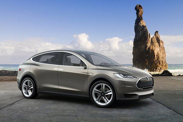 Tesla model x 2015 photos