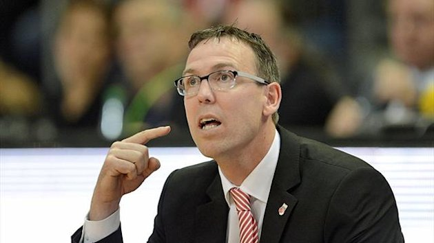 Bambergs Headcoach Chris Fleming ist unzufrieden