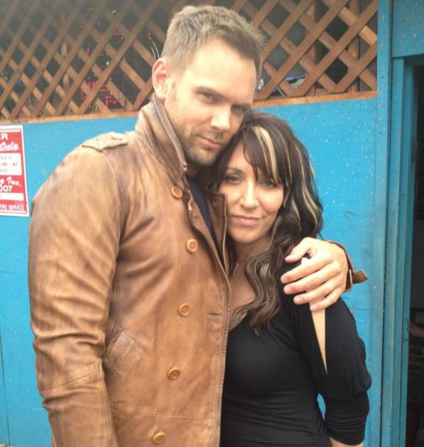 Joel McHale and Katey Sagal -- Twitter