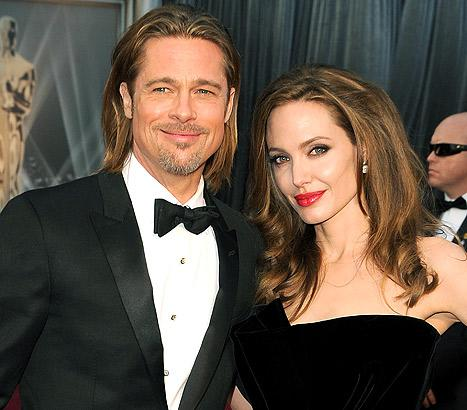Brad Pitt Gave Angelina Jolie Breath Mints for Valentine's Day 2013