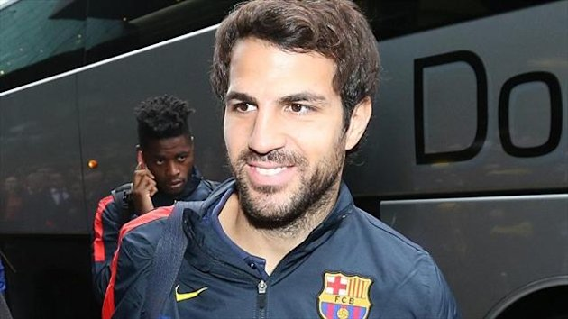 Andres Iniesta has described Cesc Fabregas, pictured, as 'indispensible'