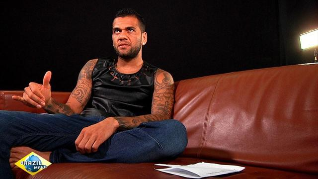 World Cup - Alves: 2014 win at Maracana would be career high