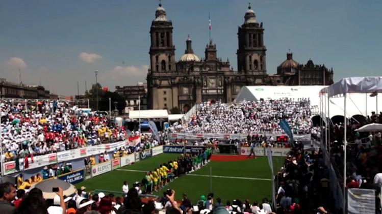 Football's Homeless World Cup kicks off in Mexico