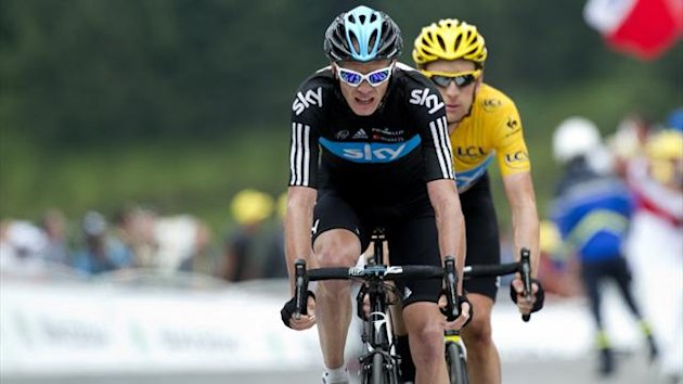 2012 Tour de France Froome Wiggins