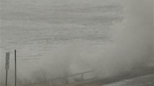Severe Winter Storm Causing Coastal Flooding