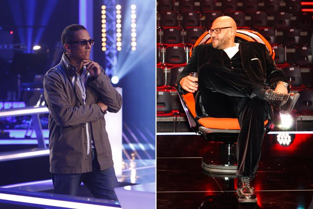 "Xavier Naidoo in ""The Voice of Germany"" und Moses Pelham in ""X-Factor"" (Bilder: ProSieben/ddpimages)"