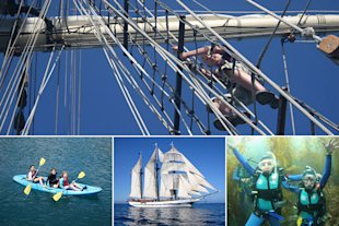 Tall Ship Summer Sailing Camp