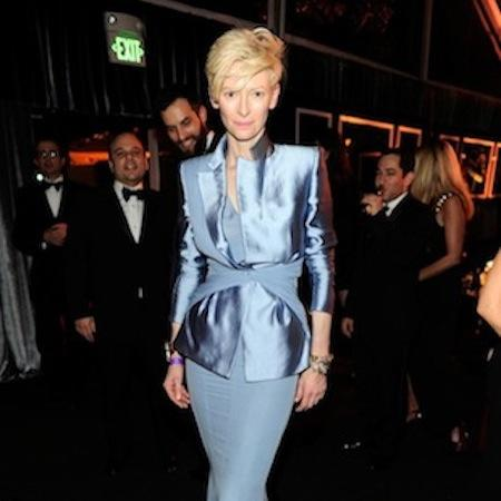 Tilda Swinton stars in futuristic fashion film