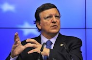 European Commission President Jose Manuel Barroso, seen here in June 2012, is due to meet Prime Minister Antonis Samaras as officials threw together a list of 11.6 billion euros in spending cuts to jumpstart reforms