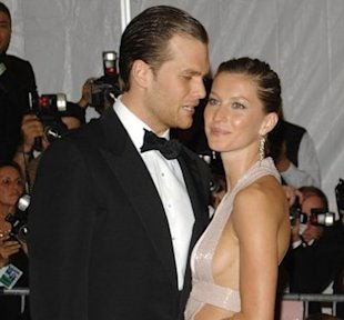 Tom Brady and Gisele Bundchen. Photo: Evan Agostini/AP Photo