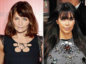 "Helena Christensen Defends Pregnant Kim Kardashian in Open Letter, Calls Criticism of Her Weight ""Despicable"""
