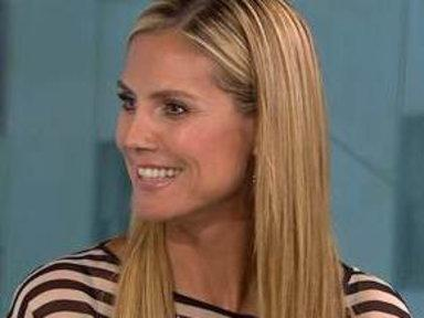 Heidi Klum: I Try to Keep It 'Positive' On 'Talent'
