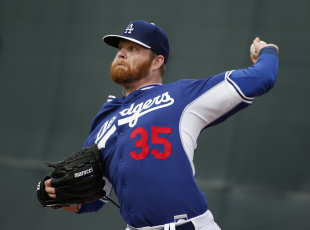 Brett Anderson hasn't pitched in a major league game since Aug. 5. (AP)