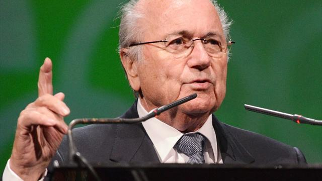 World Cup - Blatter set to stand for a fifth term as FIFA chief