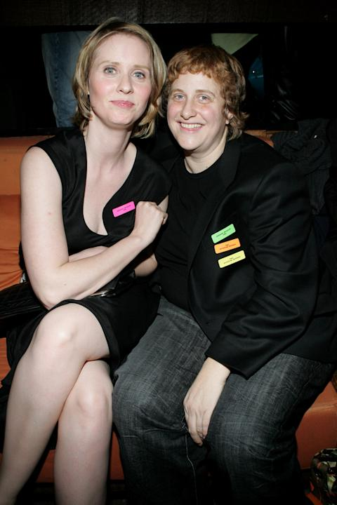 FILE: Cynthia Nixon And Christine Marinoni Get Married