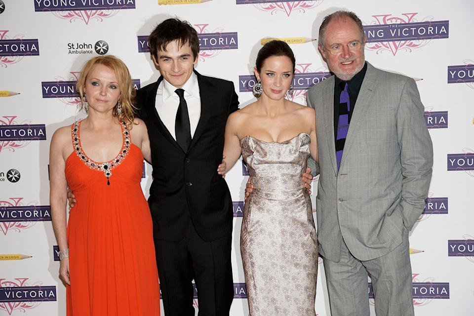The Young Victoria UK Premiere 2009 Miranda Richardson Rupert Friend Emily Blunt Jim Broadbent