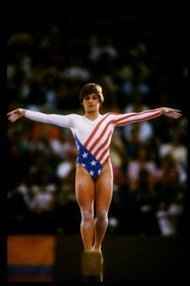 Mary Lou Retton had my dream job as a kid. Nowadays, not so much. Credit: Trevor Jones /Allsport