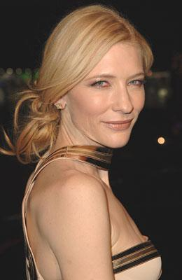 Cate Blanchett at the Hollywood premiere of Warner Bros. The Good German