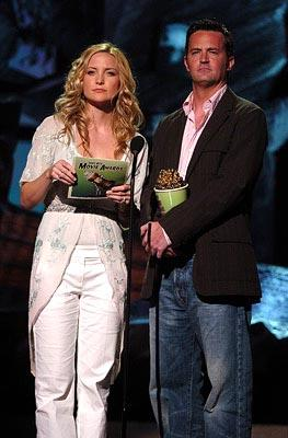 Kate Hudson and Matthew Perry MTV Movie Awards - 6/5/2004