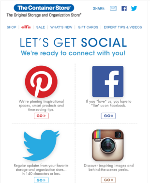 "Social Media Invite Emails That Are a Marketing ""Do"" image JoinUsOnSMEmail"