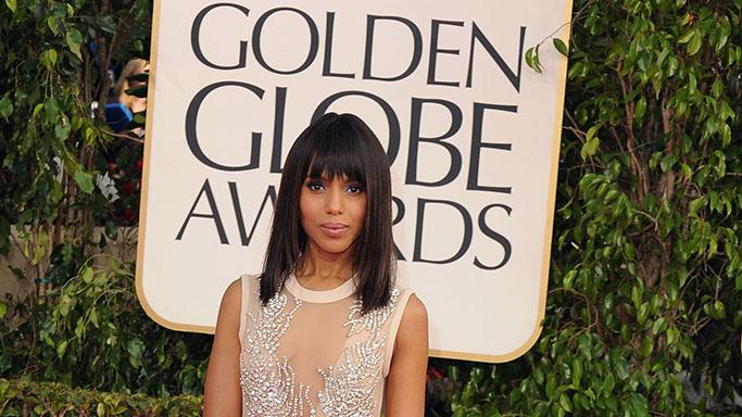 70th Annual Golden Globe Awards - Arrivals: Kerry Washington