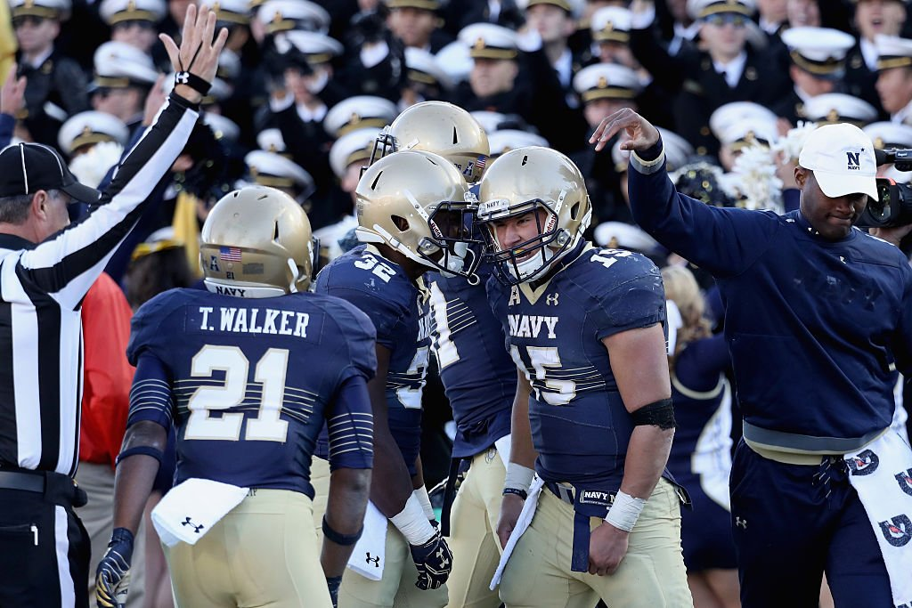 Navy's final two games will have an affect on several bowl games. (Getty)