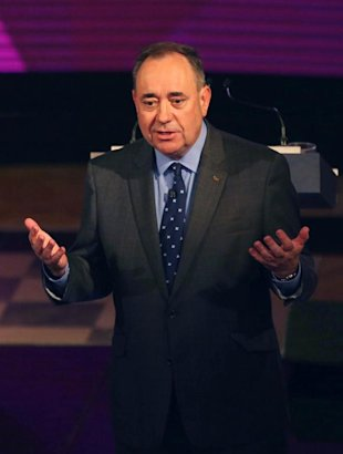 An independent Scotland would see Alex Salmond become a global statesman