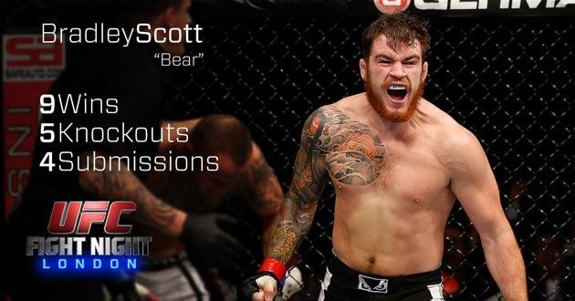 Bradley Scott UFC Fight Night London