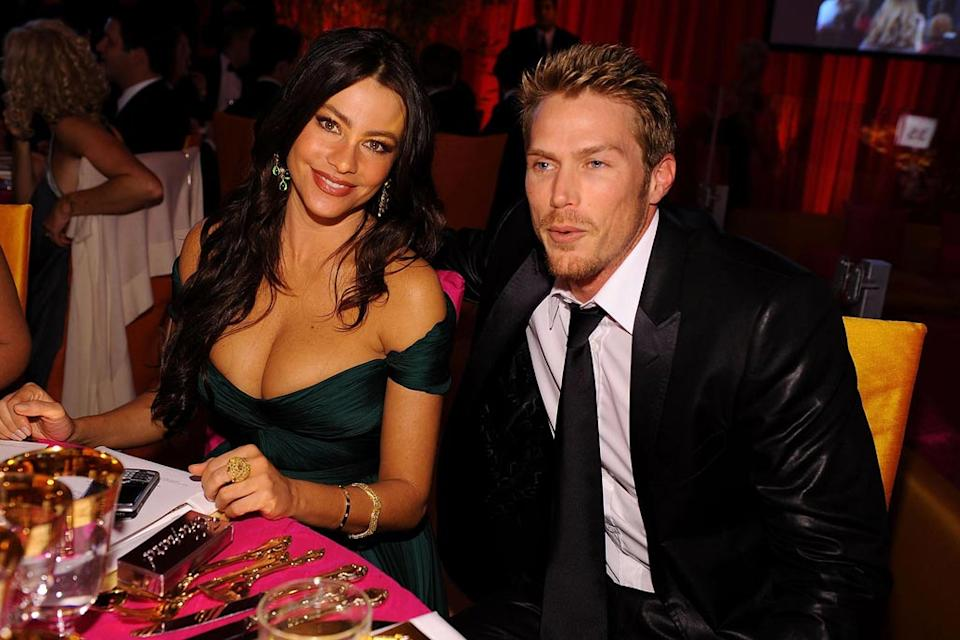 Oscars Elton John Party 2008 Sofia Vergara Jason Lewis