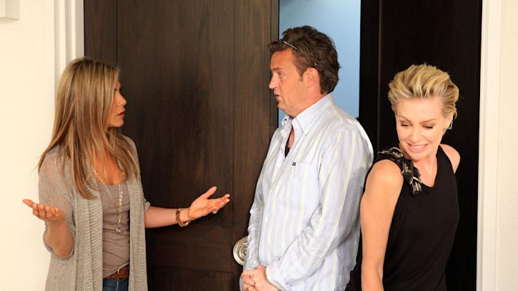 """The Ellen DeGeneres Show"" - Jennifer Aniston, Matthew Perry and Portia de Rossi"