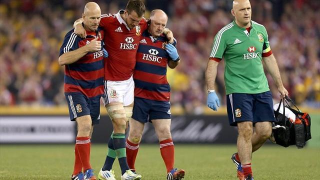 Lions Tour - Warburton ruled out for four months