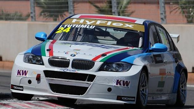 Isaac Tutumlu in his BMW 320 TC WTCC car