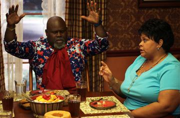 David Mann and Tamela J. Mann in Lionsgate Films' Tyler Perry's Meet the Browns