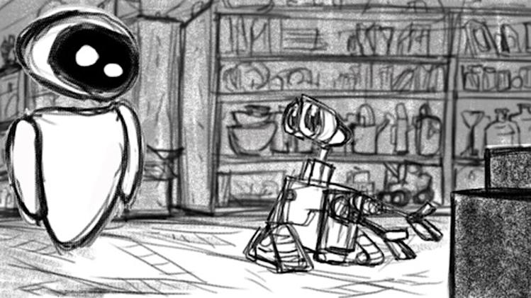 WALL-E Production Stills thumbnail