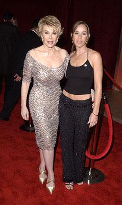 Joan Rivers and Melissa Rivers 53rd Annual Emmy Awards - 11/4/2001