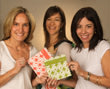Kirsten Quigley, Cristina Bourelly and Jennie Stoller Barakat, LunchSkins.